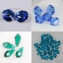 Swarovski steklene perle in kristali