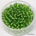 Perle Rocailles srebrna sredica 4,5mm