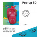 Luknjač 3D 2,5 in 3,8cm