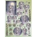 Papirji A4 z motivi Fantazijskih Vil