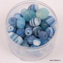 Steklene marmorne perle 100g.