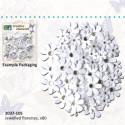 Dekorativne papirne rože metuljčki