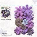 Dekorativne papirne rože in metuljčki