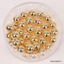 Metalne zlate srebrne perle A kvaliteta