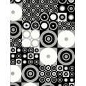 Decopatch papirji 30 x 40cm, Črni in Beli