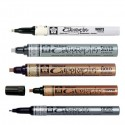 Sakura Pen Touch kaligrafski markerji zlata, srebrna, bela, črna, bakrena