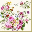 Motivi rož, listov