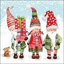 Novoletni, Božični, Zimski motivi Angeli