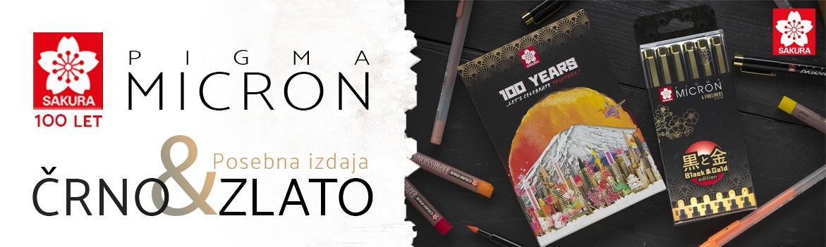 SAKURA 100 LET ZLATO ČRNA EDICIJA